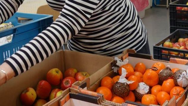 Inzameling Voedselbank